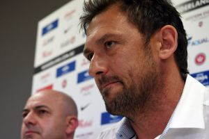 Secondary exit: Tony Popovic has been sacked by his new club just two-and-a-half months after walking out on Western ...