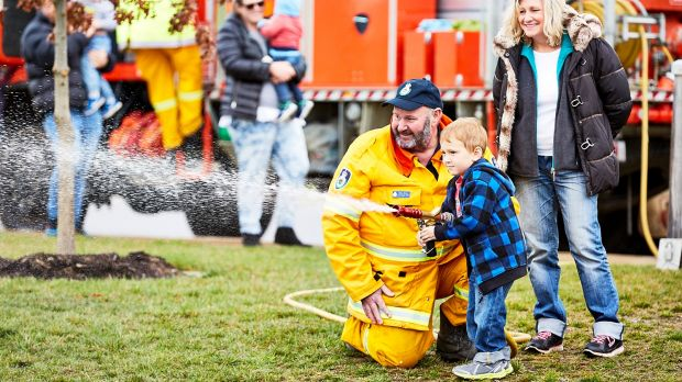 Get hands on at the Rural Fire Service Community Open Day at Googong on Saturday.