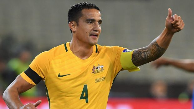 Starter's chance Socceroos legend Tim Cahill is likely to start the World Cup play-off second leg against Syria
