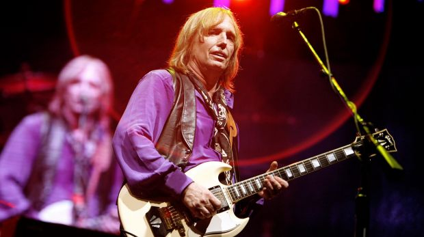Tom Petty and the Heartbreakers perform in 2006.