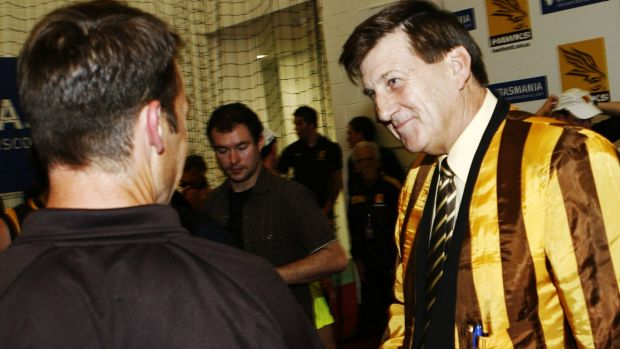 The relationship between Jeff Kennett and Alastair Clarkson has been frosty at times.