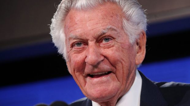 Bob Hawke is famous for his propensity to turn the air blue.