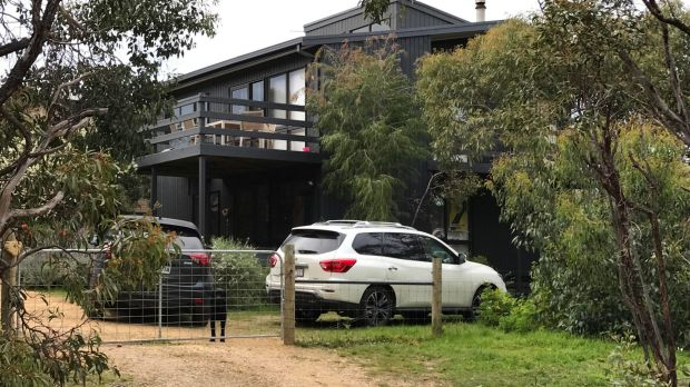 The Curry family's holiday home in Aireys Inlet.