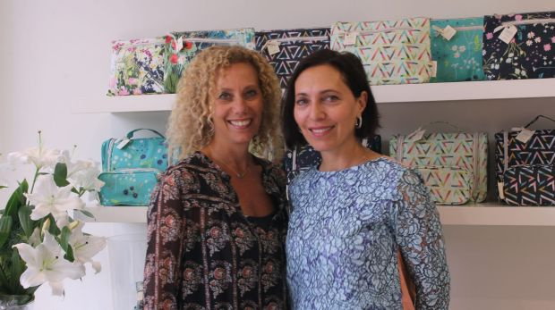 Toni Joel and Nikki Horovitz started tonic, which makes luxurious personal care products, 25 years ago.