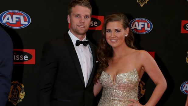Western Bulldogs footballer Jake Stringer with then-partner Abby Gilmore. Her message of empowerment employs tools of ...