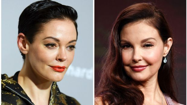 Around the same time as his alleged harassment of Ashley Judd (right), Harvey Weinstein reached a settlement with the ...