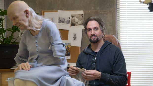 Sam Jinks' The deposition was commissioned for the NGA's Hyper Real exhibition.