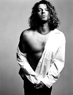 Michael Hutchence as seen in The Last Rockstar.
