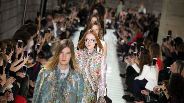 The question at the heart of fashion season was, in a way: 'what's the point?'