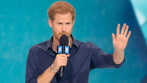 Prince Harry hands out HIV kits in London to promote testing