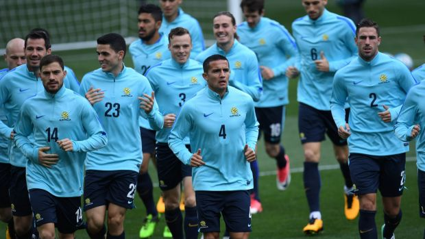 Socceroos sweat on final WC play-off foes