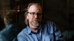 Booker Prize winner George Saunders when he was in Sydney for the Sydney Writers' Festival in May.