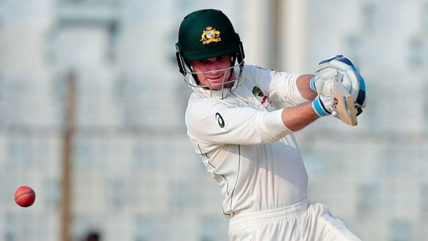 Run-machine: Australia's Peter Handscomb averaged almost 100 in his first Test summer.