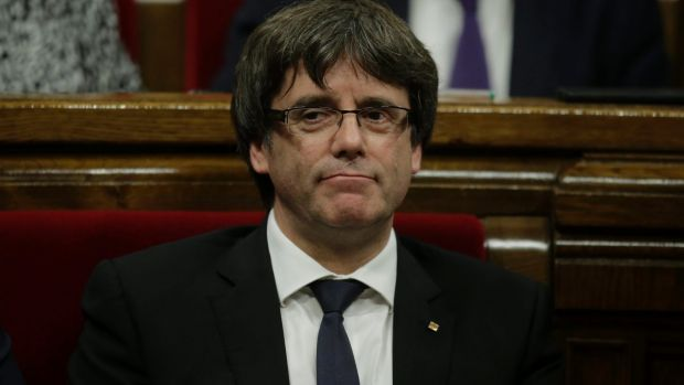 Catalan regional president Carles Puigdemont has failed to respond to an ultimatum from Madrid to clarify if he had ...