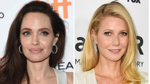 Angelina Jolie (left) and Gwyneth Paltrow are the latest high-profile actresses to go public with allegations against ...