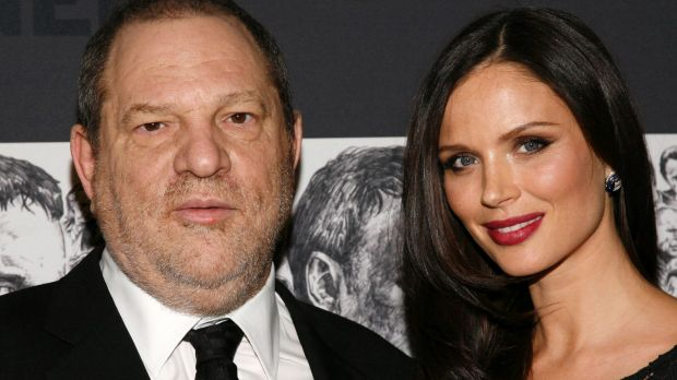 Harvey Weinstein, left, and his wife, fashion designer Georgina Chapman, in 2012.