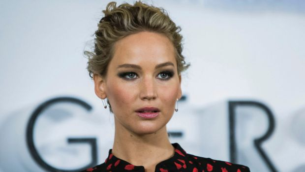 Jennifer Lawrence claims to not have experienced any harassment.