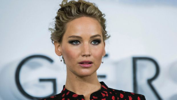 """Jennifer Lawrence says that her 2014 nude photo hack left her feeling """"gang-banged by the f---ing planet."""""""