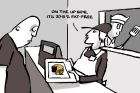 Dyson cartoon; re Penalty rates decision, Age Letters 12 October 2017