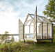 A stay in a glass cabin in the Swedish wilderness has proven to be an effective stress relief.