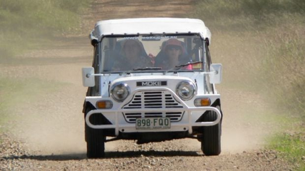 The Moke: underpowered but always up for an Australian adventure.