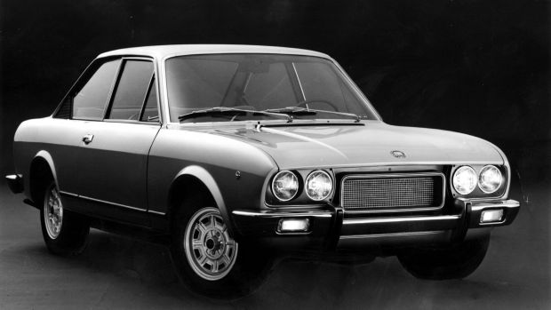 Expensive to run: the Fiat 124 Sport.