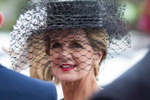 Deputy PM Julie Bishop in the Emirates Marquee on Melbourne Cup day. photo by Jesse Marlow ****EXCLUSIVE TO AFR**** ...