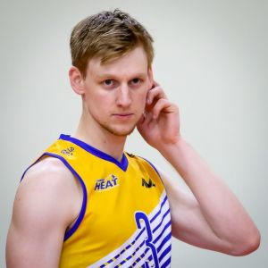 Canberra Heat player Nic Borgeaud has joined a German volleyball team.