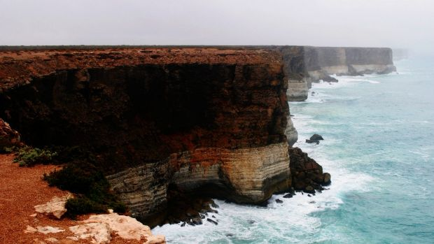 The Bunda Cliffs on the Great Australian Bight. Resources groups say there is still strong exploration potential in the area.
