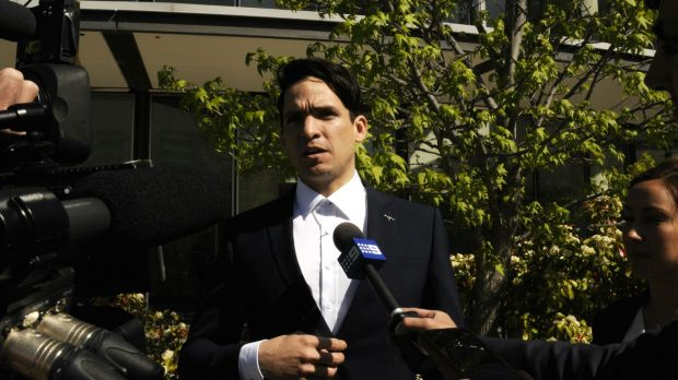 Cesar Augusto Baena Sierraalta, 30, apologised to his victim outside the ACT Magistrates Court.