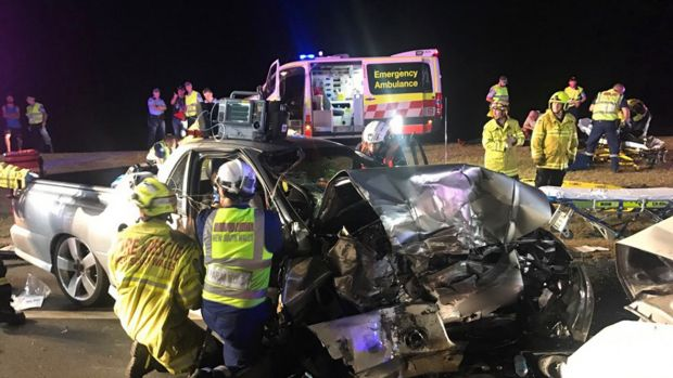 There were 1125 road fatalities for the 12 months ending December 2017.