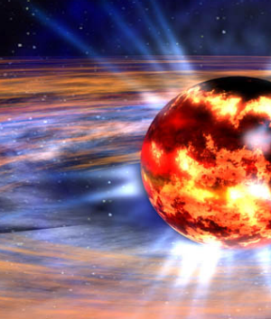 A neutron star is the dense, collapsed core of a massive star that exploded as a supernova. Two of them spiralling into ...