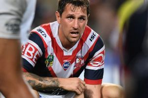 Heavily criticised: Roosters playmaker Mitchell Pearce.
