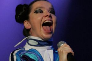 Singer Bjork claims she was sexually harassed on a movie set.