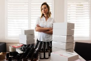Natasha Jay of Pump Haircare was unable to send 300 packages as a result of the outage.