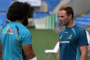 Keen: Retired front-rower Dan Palmer will take charge of the Wallabies scrum during the spring tour.