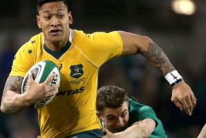 Leaving the north behind: Israel Folau's sabbatical could help Australia win the s019 World Cup.