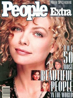 Michelle Pfieffer on the 1990 cover.