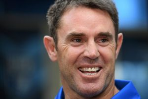Front runner: Blues State of Origin legend Brad Fittler is the firm favourite for the NSW coaching job.