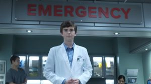 The Good Doctor stars Freddie Highmore as Dr Shaun Murphy.