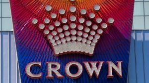 Generic Crown Casino Signage in Melbourne. 18th October 2017. Photo by Jason South