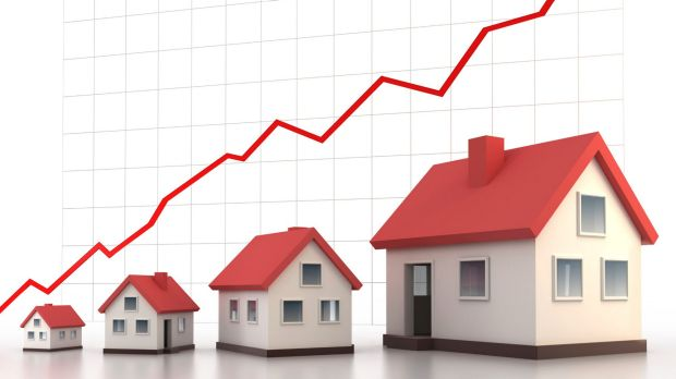 Values were up 1.1 per cent in the past quarter and 6.4 per cent over the past year.