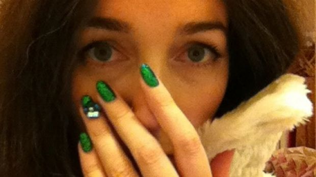 Clem Bastow's nails in 2013