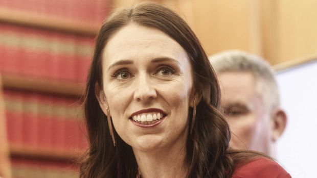 New Zealand Prime Minister Jacinda Ardern on Thursday night.