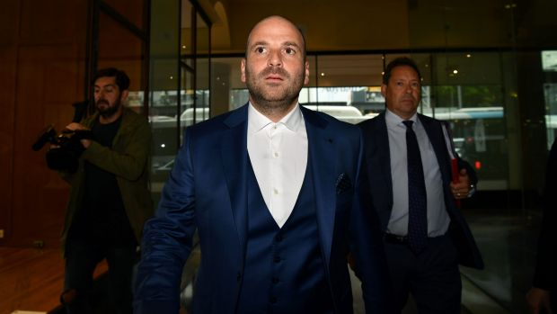 Calombaris pleaded guilty to the assault in August.