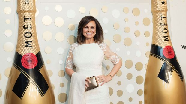 Celebrating in style: Lisa Wilkinson steps out to her first public appearance for Moët & Chandon after quitting Nine at ...
