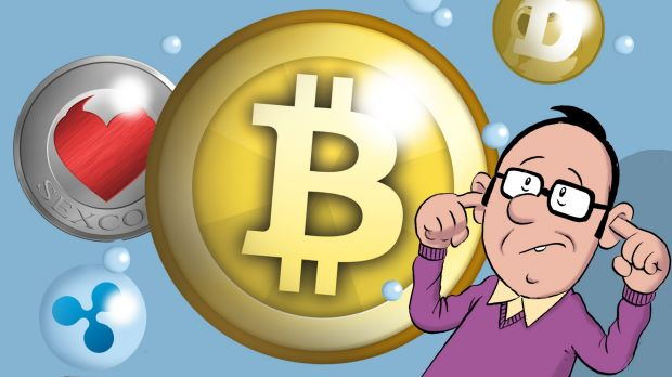 Cryptocurrencies such as Bitcoin are on an incredible tear but how long will it last? Illustration: John Shakespeare