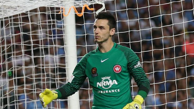 Wanderers' Vedran Janjetovic was pelted with snakes on his return to play Sydney FC.