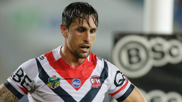 Marketable: Other clubs are interested in Mitchell Pearce if the Roosters want to offload him in favour of Cooper Cronk.