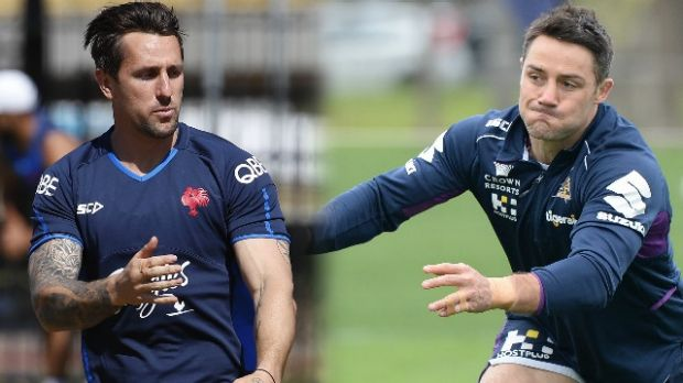 Playmakers: Speculation over the futures of Mitchell Pearce and Cooper Cronk continues unabated.